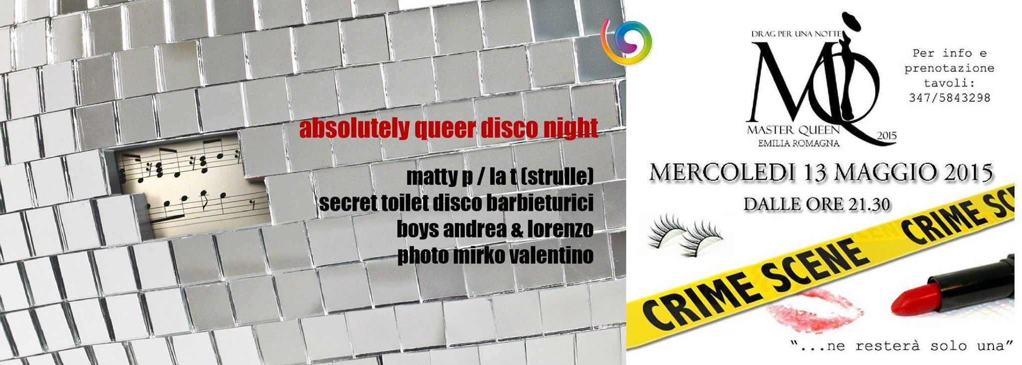 DRAG PER UNA NOTTE & ABSOLUTELY QUEER DISCO NIGHT