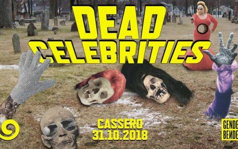 DEAD CELEBRITIES – Halloween Party