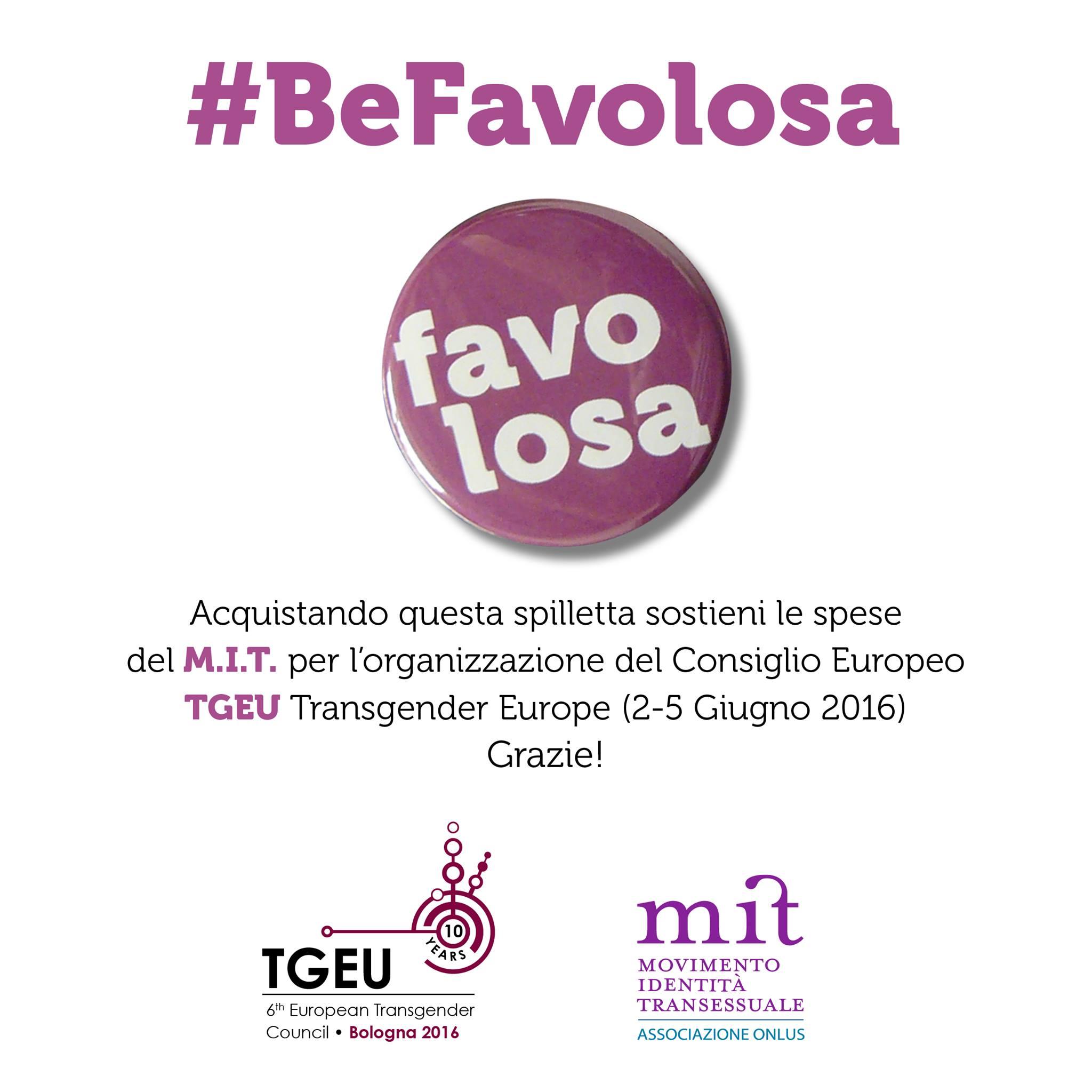 #BeFavolosa