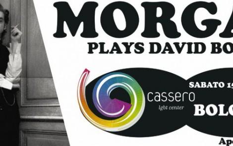 Morgan plays David Bowie