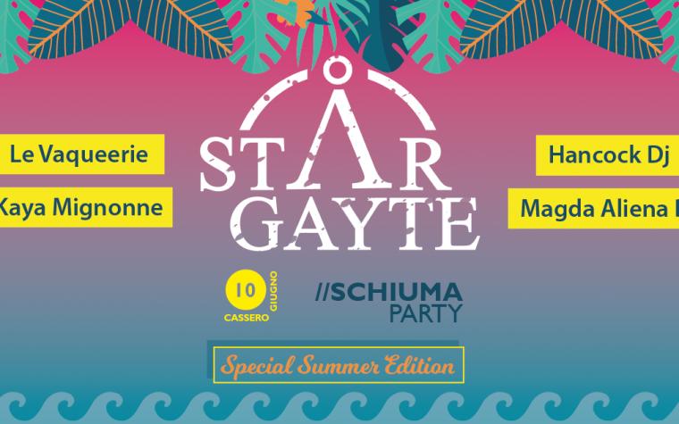 STARGAYTE presenta SCHIUMA PARTY