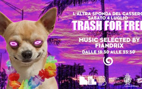 Trash For Free ● Aperitivo In the garden ● 4 7 2020