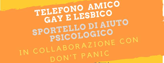 Telefono Amico e Don't Panic insieme per il servizio di supporto psicologico.
