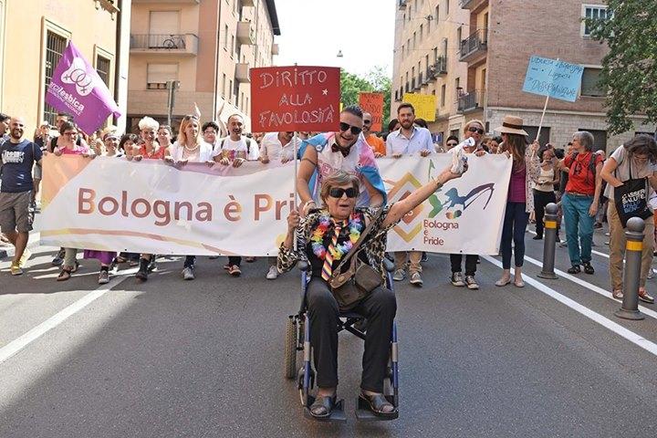 Bologna Pride – il Cassero LGBT center dal palco