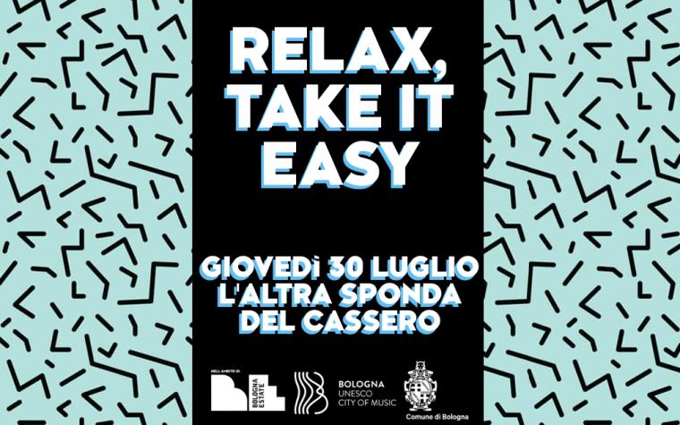 Relax, take it easy| Aperitivo al Cassero