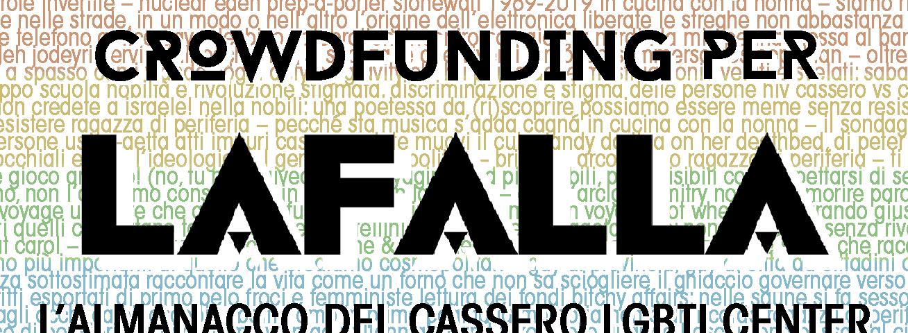 La Falla: supporta il crowdfunding!
