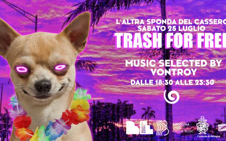 Trash For Free ● Aperitivo In the garden ● 25 7 2020