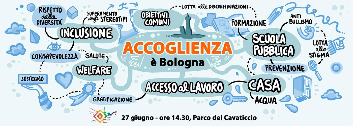 """""""Bologna è Accoglienza"""" – ecco i valori del nostro Pride"""