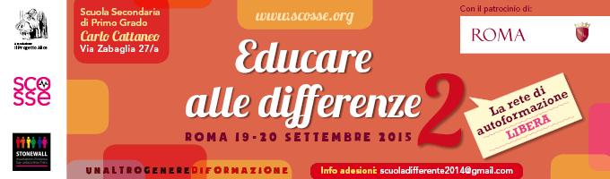 Schoolmates: laboratorio sull'identità sessuale per adolescenti | il Cassero a Educare alle Differenze il 19 e 20 settembre a Roma